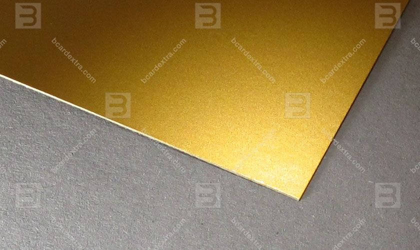 Cardboard Splendorlux metal oro