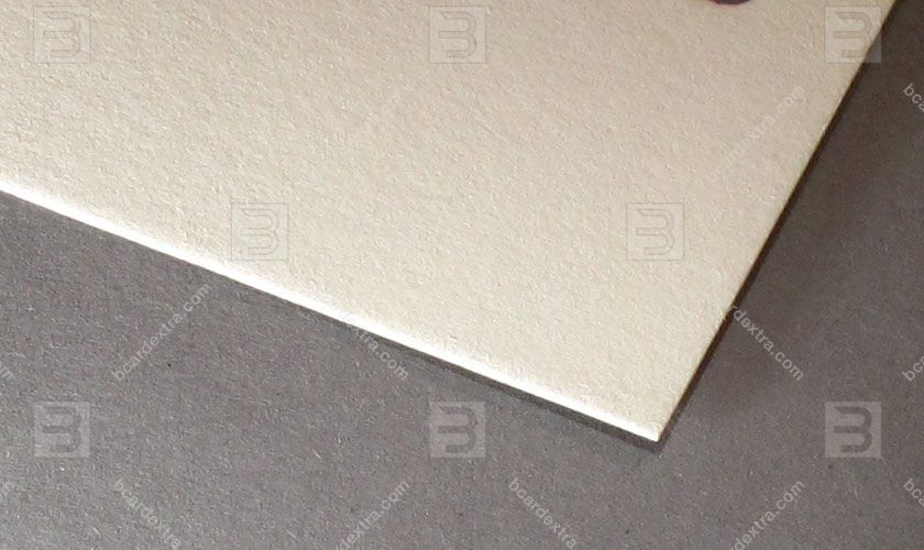 Cardboard Cotton natural beige business card photo