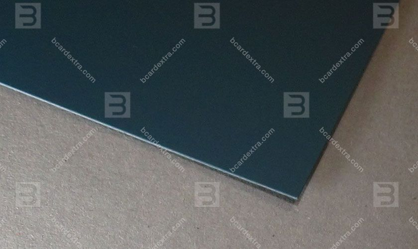 Cardboard Touche Cover blue green