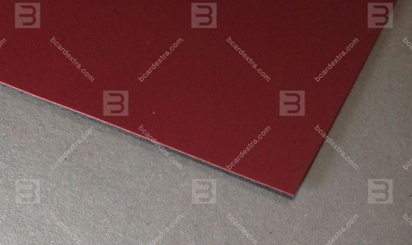 Cardboard Touche Cover bordo