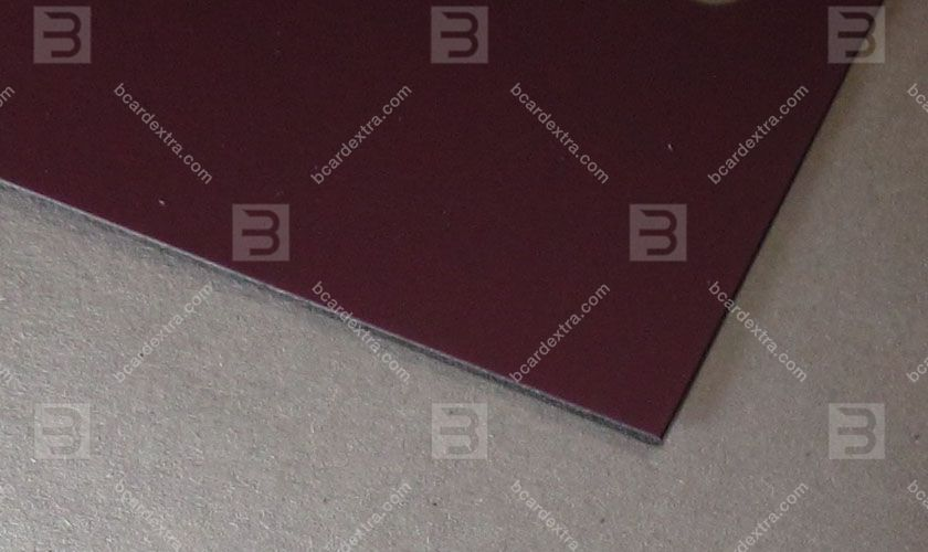 Cardboard Touche Cover plum