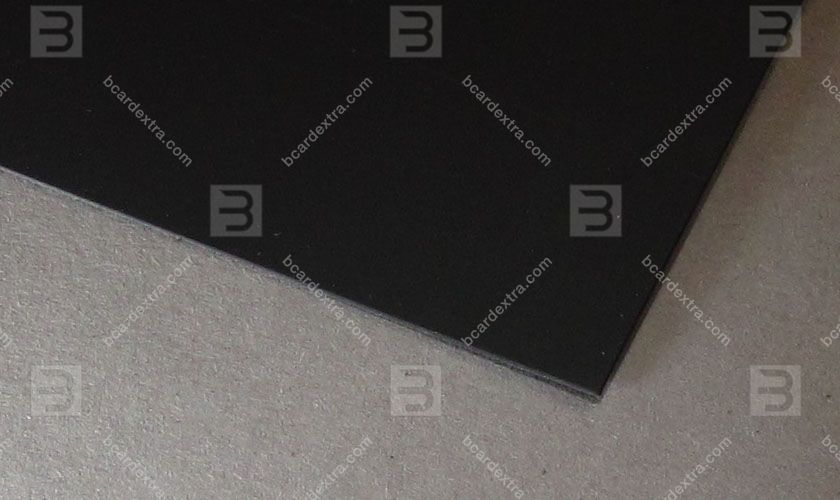 Cardboard Touche Cover black