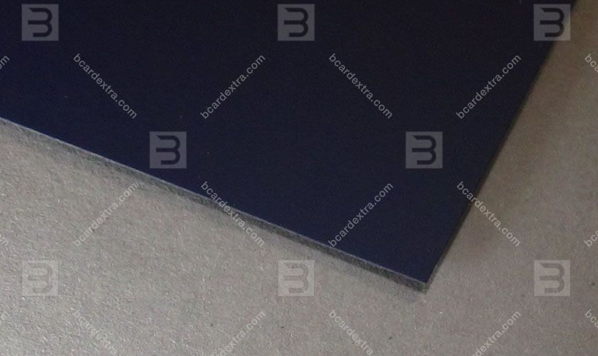 Cardboard Touche Cover blue concord