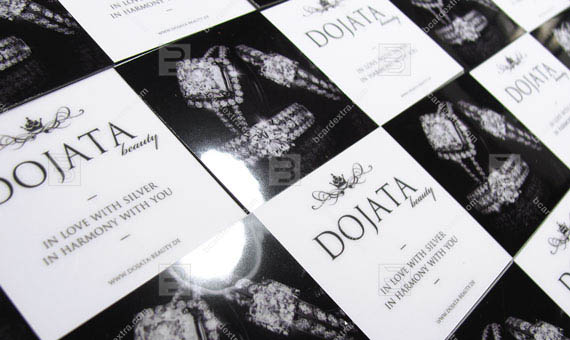 Business card for beauty center «DOJATA» business card photo