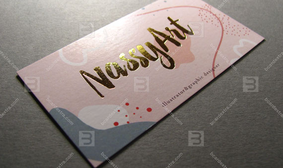 Business card for graphic designer business card photo