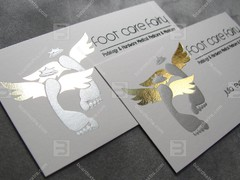 Business card embossing order